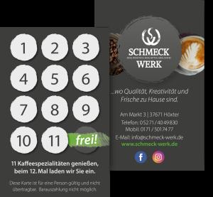 2021-03-24 Sammelkarte Schmeck-Werk